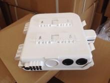 Hot Sale 1*16 Core Plastic Material Outdoor Fiber Optic Distribution Box ,FTTH box , FTTH distribution box