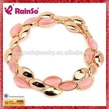 memories for golden wedding alloy bracelet,pink bridal bracelet designs women 2015