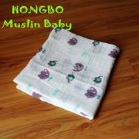 hot sales 100% organic cotton queen size thermal blanket baby blanket
