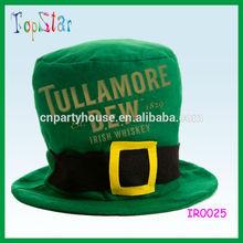 Fashion Green Irish St. Patricks Day Men Leprechaun Hat