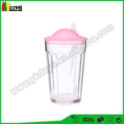 160z Double wall bottle plastic,energy drink bottle