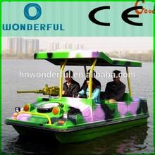 China professional manufacturers new design 4 person electric boat/cheap fiberglass electric boat