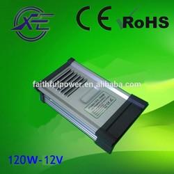 100-240V Input Voltage and Constant voltage Output Type 12v 120w led driver
