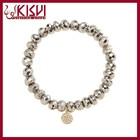 KISVI 925 Silver Jewelry Wholesale Silver Bracelet;Pyrite Bracelet