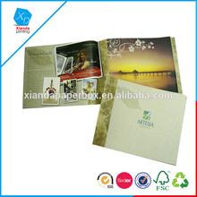 custom coloring printing brochure sample for book
