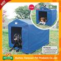 Desconto! Portátil de alta qualidade profissional de fácil montagem cão casa de plástico