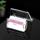 Hotsale Acrylic namecard case ACR2008; transparent acrylic