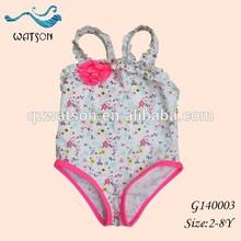 Cutie Children Beachwear, Strap Shoulder One Piece Bathing suit