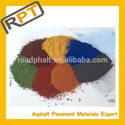 pigments for color concrete asphalt