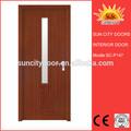 Interior de pvc/exterior de la puerta de madera de fotos, puerta del pvc, puerta de madera sc-p147