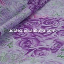 Factory price 100% cotton poplin rose printed fabric
