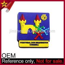 Customized 3D Soft PVC Souvenir German Fridge Magnet