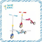 The hot sale kids toy , kids new 2 in 1 kick scooter