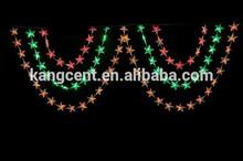 Star-twinkling Fiber Optic Waterfall Light Curtain