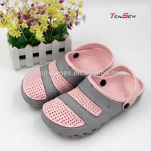Nuova forma moda casual eva zoccoli per la signora non- slittamento colore rosa lady sandalo suole