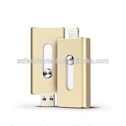 Newest apple iphone otg usb flash drive