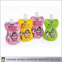 Liquid reusable spout pouch