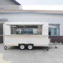 Mobile Food Kitchen Cart/fast food kitchen truck/Fast Food Van