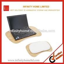 Large Size 17inch Bamboo Laptop Desk Lap Desk