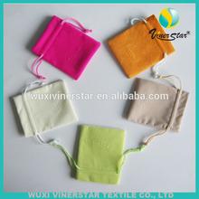2015 wholesale custom Printed Velvet Pouch Bag, Velvet Jewelry Pouch With Logo