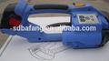Xn-200/t-200 pilhas cintas máquina/elétrico portátil máquina de cintar/pp, fardos de pet