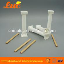 bolo de casamento decoração de plástico ferramentas bolo pilares