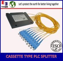EPON GPON FTTH fiber optic 1x8 PLC splitter with china supplier