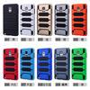 shero! Custom armour case For samsung note 4,Hybrid Case For note 4