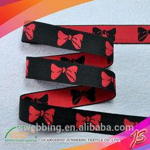 Guangzhou wholesale elastic jacquard silk satin