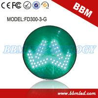 green arrow auto led signal light