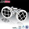 Factory direct sale metal design your own photo frame cufflinks custom