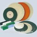 Hidráulico de tela / cuero / de algodón / de lana rueda de pulido de corte de la máquina