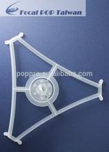 Ceiling plastic display POP ceiling sign holder plastic hanging sign holders TR94S