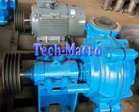 3-8 inch belt driven centrifugal solid waste slurry pump