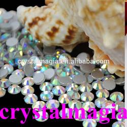 preciosa crystals wholesale non hotfix rhinestone ss30 ab