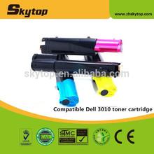 compatible Dell toner cartridge 341-3568 341-3569 341-3570 341-3571 for print toner 3010cn
