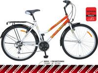 Online sale high quality STEEL 21 speed utility bike for women
