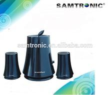 2.1 Ch tree desktop computer speaker 2.1channel multimedia speakers