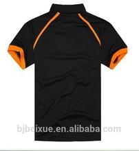 LEDENSWEISE short sleeved polo shirt ,black polo t shirt 100% cotton China factory