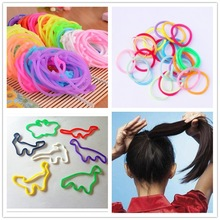 beautiful custom silly hair band/silly bands for fixing hair