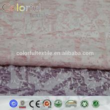 Polyester Jacquard dyed woven Fabric jacquard elastic jacquard fabric