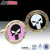 Promotional fashion jewelry brass cufflinks