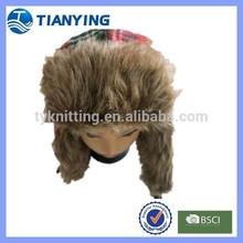 winter unisex warm furry snow cap earflaps