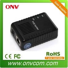 power over ethernet splitter 10/100/1000M Gigabit , 5V/9V/12V DC Output mini poe splitter 12v