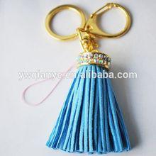 fashion popular new Blue fringed with key chain