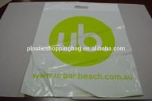 Plastic Bag OEM Custom Printed Die Cut Plastic Shopping Bag