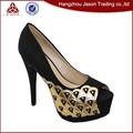 Baixo preço garantido qualidade sensuais sapatos de saltos muito altos