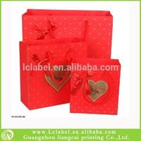 luxury paper gift bags printed paper bag