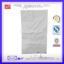 garbage industrial use pp woven bag, sandbag packaging bag in pp woven printing bag, white cheap waste packaging bag