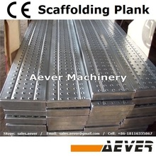 China supplier Perforated 7' x19'' Aluminum construction steel platform
